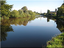 SO8453 : The River Severn at Diglis by Philip Halling