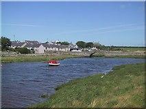 SH3568 : Aberffraw across the River by Sarah Charlesworth