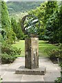 NS1485 : Sundial in the Formal Gardens by Lairich Rig