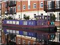 SO8553 : Narrowboat, Diglis Basin by Philip Halling