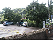 SS9843 : Car park adjacent to Gallox Bridge by Basher Eyre