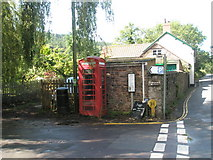 SS9843 : Phonebox at junction of West and Park Streets by Basher Eyre