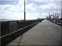 SW4628 : The North Pier, Newlyn Harbour by Bob Embleton
