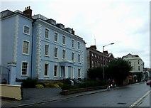 SW8132 : Arwenack Street, Falmouth. by Simon Huguet