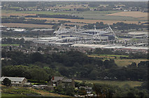SD6409 : Reebok Stadium from Crooked Edge Hill by Gary Rogers