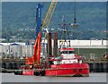 J3575 : Dredger 'Red Fighter' in Belfast by Rossographer