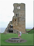 TA0489 : Scarborough Castle by Paul Glazzard