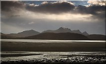 NC5758 : Kyle of Tongue and Ben Loyal from causeway. by djmacpherson