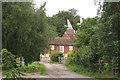 TQ8364 : The Oast, Place Farm, Place Lane, Hartlip, Kent by Oast House Archive