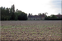 TR2655 : Oast House at Crixhall Court, Buckland Lane, Staple, Kent by Oast House Archive