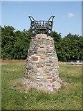 NT2674 : Vigil Cairn, Calton Hill, Edinburgh by ronnie leask