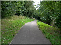 TQ7668 : Foot and Cycle Path to Great Lines by Danny P Robinson