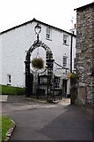 SD6178 : Gateway to St Mary's Church, Kirkby Lonsdale, Cumbria by John Salmon