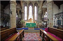 SD6178 : St Mary's Church, Kirkby Lonsdale, Cumbria - Chancel by John Salmon