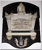 SD6178 : St Mary's Church, Kirkby Lonsdale, Cumbria - Wall monument by John Salmon