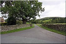 SD6382 : Corner by St Bartholomew, Barbon, Cumbria by John Salmon