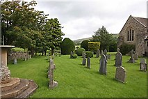 SD6382 : St Bartholomew, Barbon, Cumbria - Churchyard by John Salmon