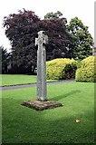 SD5192 : Holy Trinity Church, Kendal, Cumbria - Churchyard cross by John Salmon