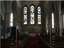SK4023 : The interior of the Priory Church of St Mary and St Hardulph, Breedon on the Hill by Bill Henderson