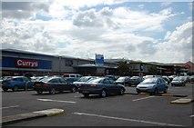 TQ7190 : Mayflower Retail Park, Basildon by Trevor Harris