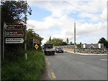 O0236 : Road Signs Near Collins Bridge by Ian Paterson