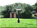 TL7856 : Depden village sign by Keith Evans
