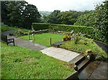 SE1307 : Site of mortuary chapel, Cemetery Road, Cartworth (Holmfirth) by Humphrey Bolton