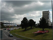 SZ0991 : Bournemouth: view east from Lansdowne Road by Chris Downer