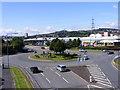 SO9889 : Oldbury Footbridge View by Gordon Griffiths