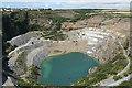 SX0783 : St Teath: Delabole Slate Quarry by Martin Bodman