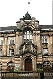 SP0198 : Walsall Town Hall Lichfield Street Entrance by Derek Bennett