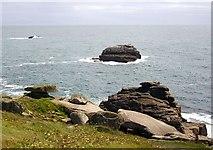SV9109 : Carrickstarne, Peninnis Head, St. Mary's by Bob Embleton