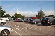 SJ7760 : M6 Sandbach Motorway Services - northbound by Roger Davies