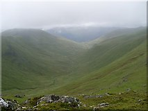 NN6240 : Clear view of Allt a' Chobhair glen by Stephen Sweeney