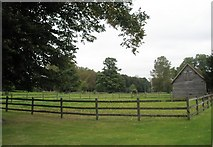 SU7037 : Delightful paddock at Chawton Manor by Basher Eyre