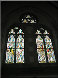 SU7037 : Stained glass windows within St Nicholas, Chawton by Basher Eyre