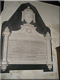 SU7037 : Memorial to Jane Austen's sister-in-law within St Nicholas, Chawton by Basher Eyre