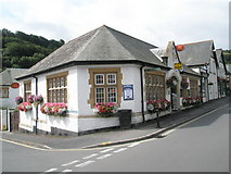 SS7149 : Lynton Post Office by Basher Eyre