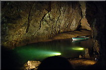 ST5348 : Wookey Hole caves by Jim Champion