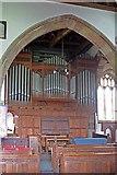 SD4983 : St Peter's Church, Heversham, Cumbria - Organ by John Salmon