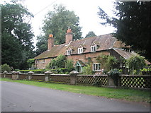 SU7037 : Delightful cottages near Chawton Manor by Basher Eyre
