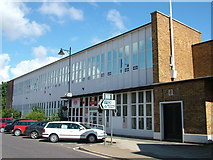 TM3863 : Saxmundham Post Office building by John Goldsmith