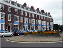 SY6878 : Weymouth - Devonshire Buildings by Chris Talbot