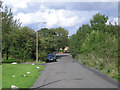 SO9688 : Access road beside Dudley Golf Club by Row17