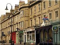 ST7565 : Bladud Buildings and pigs, Bath by Derek Harper