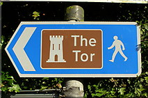 ST5038 : This way to The Tor by Jim Champion