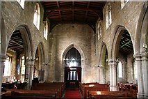 SK7431 : St.Mary's nave by Richard Croft