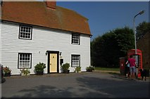 TQ9293 : The Old Post Office, Paglesham Churchend by Trevor Harris