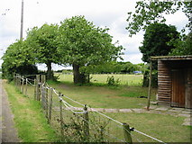TR3256 : Paddock to NE of footpath between A258 and Dover Road by Nick Smith