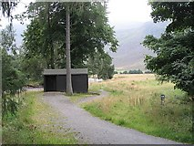 NO2875 : Lost campsite of Glen Doll - an important stance in many long trips by Richard Webb
